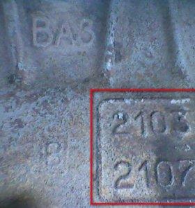 Мотор на ваз 2105 (в разборе).