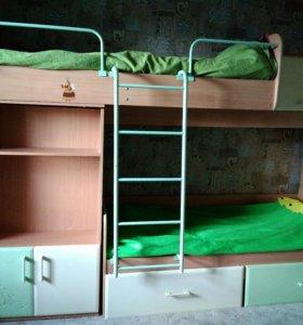 """Двухярусная кровать """"Маугли"""""""