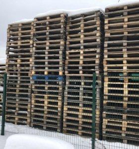 Поддоны деревянные 1,2х1 м