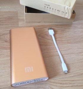Внешний аккумулятор Xiaomi Mi 20800mAh новый