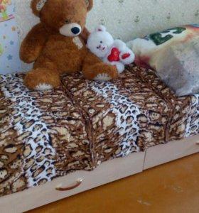 Кровать-трансформер +матрас