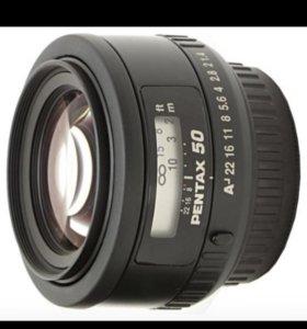 Объектив Pentax 50mm f1:4