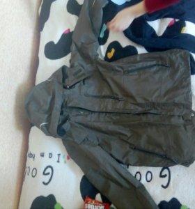 Демисезонная куртка+подклад