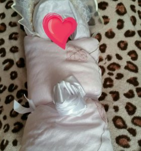 Одеяло и уголок на выписку