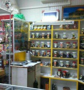 Торговое оборудование, стеллажи, шкафы