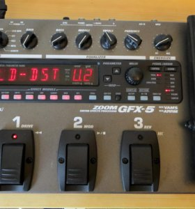 Гитарный процессор Zoom GFX 5