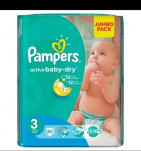 Pampers Active baby-dry 3,4,5,6