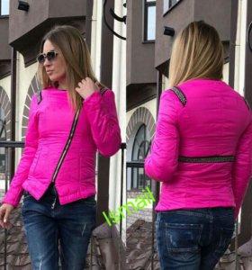 Новая куртка на весну 42-44 р-р