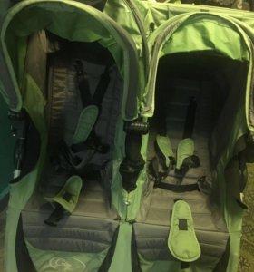 Коляска для двойни или погодок baby jogger double