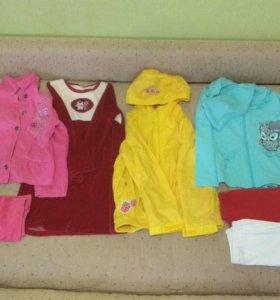 Вещи пакетом для девочки 6-7 лет