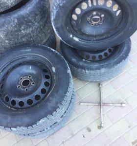 Комплект колес шевроле круз