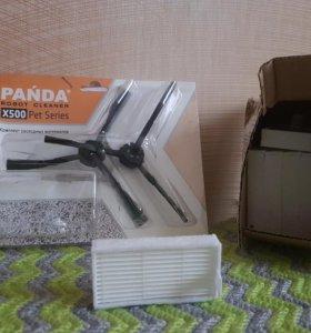 Щетки и фильтры для пылесоса панда х500