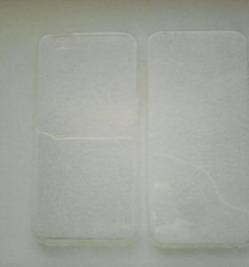 Прозрачный силикон на айфоны