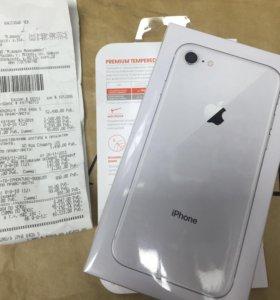 iPhone 8 silver 64gb Ростест