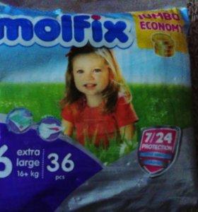 Подгузники molfix 6