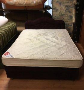 Кровать двухспальная бу 150/200