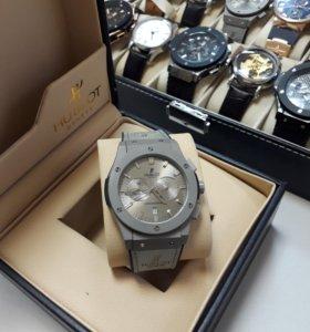 Часы Hublot хронограф Унисекс и Panerai в подарок