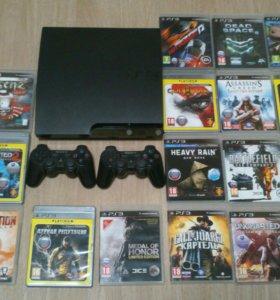 Игровая приставка PS3 + игры
