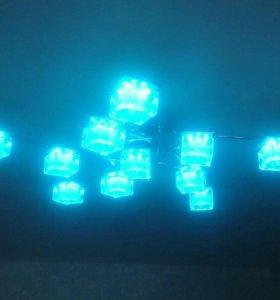 люстра с подсветкой