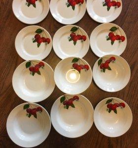 Новый набор тарелок