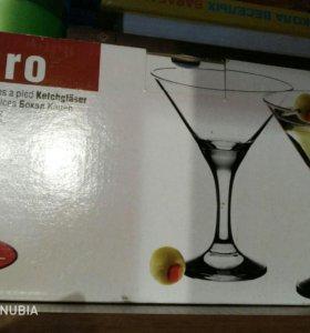 Новые бокалы для мартини