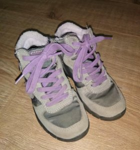 Ботинки для девочки нат. Кожа