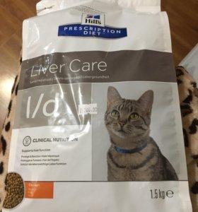 Корм для кошек hill's l/d