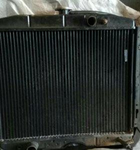 Радиатор на ГАЗ 3307