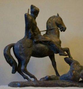 Скульптура бронза, /авторская/