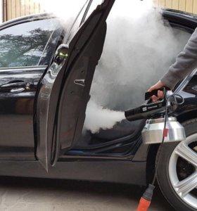 Устранение неприятных запахов   Сухой туман