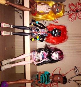 Куклы монстр хай, отличное состояние