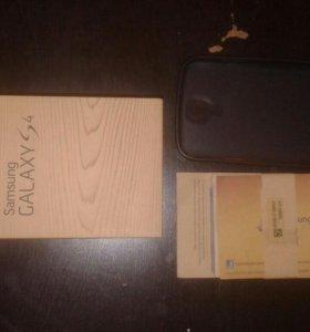 Коробка Samsung s4