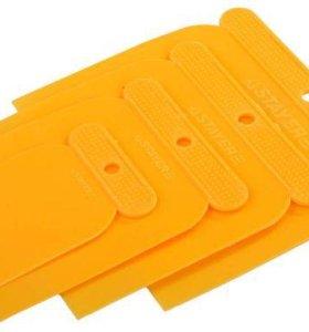 Шпатели пластмассовые /набор 4 шт./, STAYER, комп.