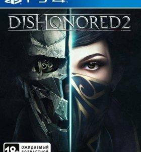Игра Dishonored 2 для PS4
