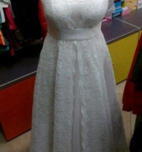 Свадебное платье 50-52 размер