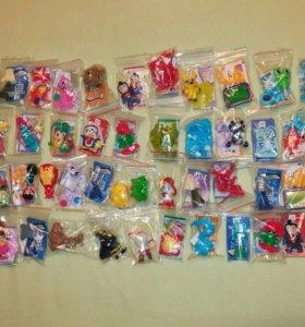 Пакетом новые игрушки киндер сюрприз