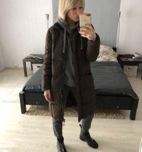Пуховик пальто зимнее MAX MARA оригинал