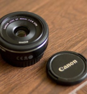 Объектив Canon 40mm F 2.8 STM