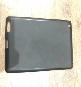 Чёрный резиновый чехол на iPad 2/3/4