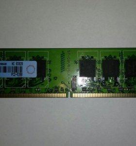 Оперативная память 1 гб DDR 2