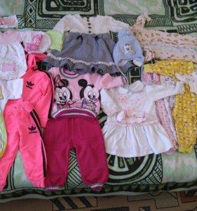 Одежда для девочки р 68-80