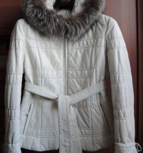 Кожаная куртка Orsa, демисезон