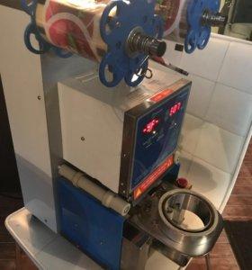 Аппарат для вакумный упаковки стаканов Booble Tea