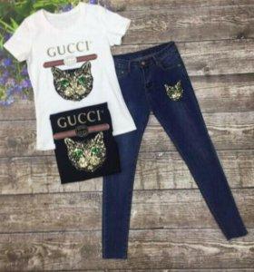 Набор джинсы + футболка