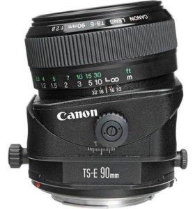 Canon Ts-e 90mm 2.8 tilt shift