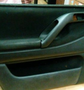 Накладки на передние двери VW Passat B4