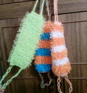 Мочалки и сумки из полипропилена