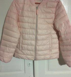Куртка,светло-розовая