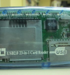Card Reader USB 2.0 23-in-1 (картридер)