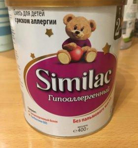 Сухая смесь similac гипоаллергенный 2